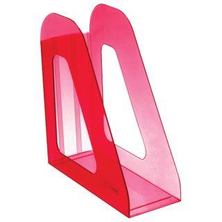 Tray vertical paper of STAMM Favorit (235х240 mm), width 90 mm, tinted dark red