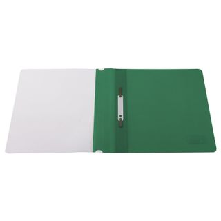 BRAUBERG plastic folder, A4, 130/180 µm, green