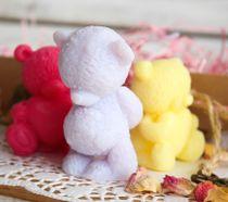 Three bears - handmade soap set in a gift box