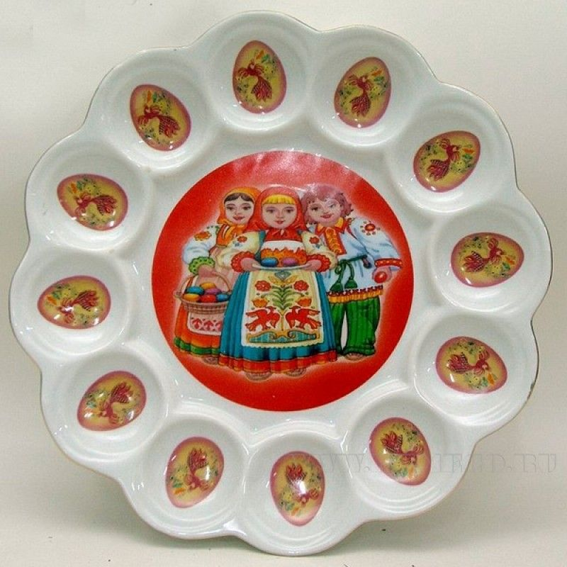 Easter stand plate