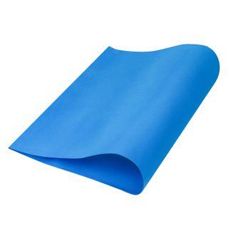 Porous rubber (tamilan) for creativity, BLUE, 50x70 cm, 1 mm, TREASURE ISLAND