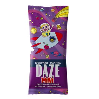 DAZE CHOCOLATE-RASPBERRY nut - fruit bars