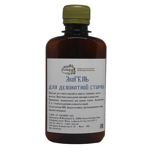 Scythia / Eco gel for delicate wash, 200 g