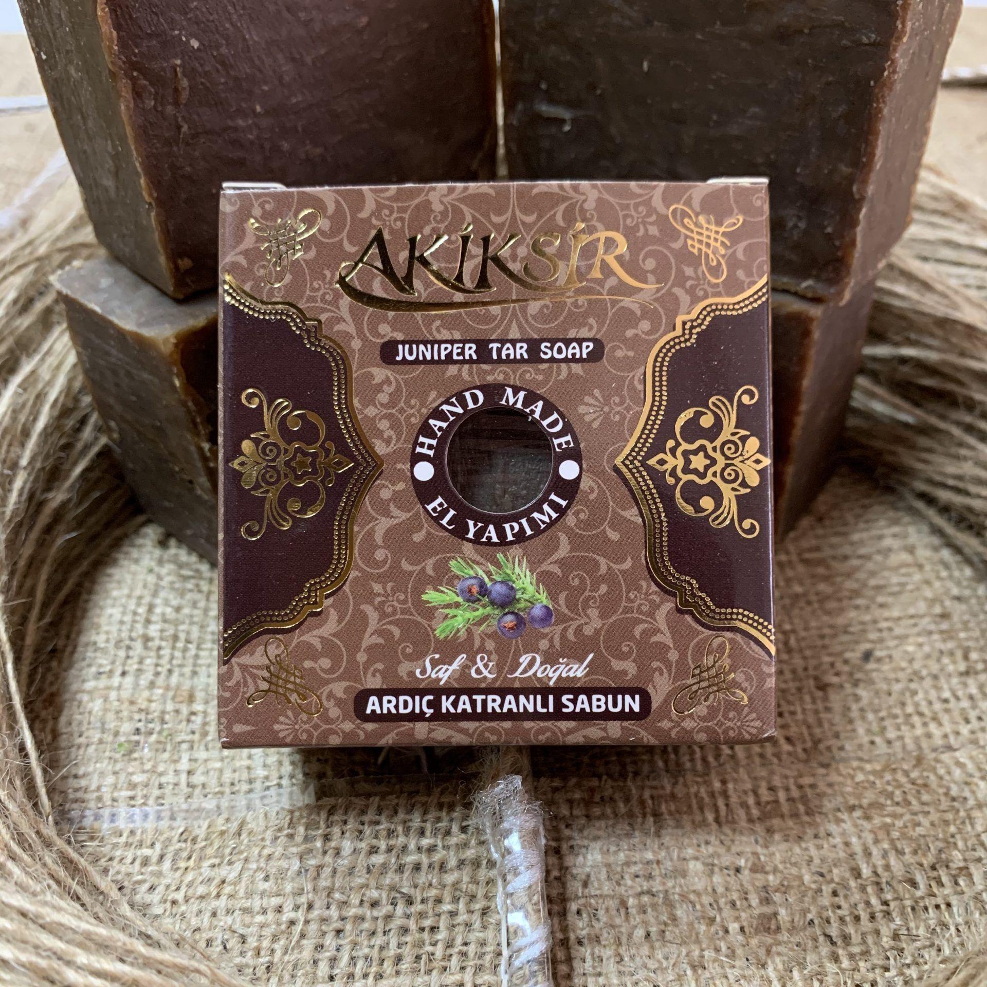 Soap with juniper natural Akiksir