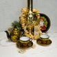 Tea service with Khokhloma painting, 14 items - view 8