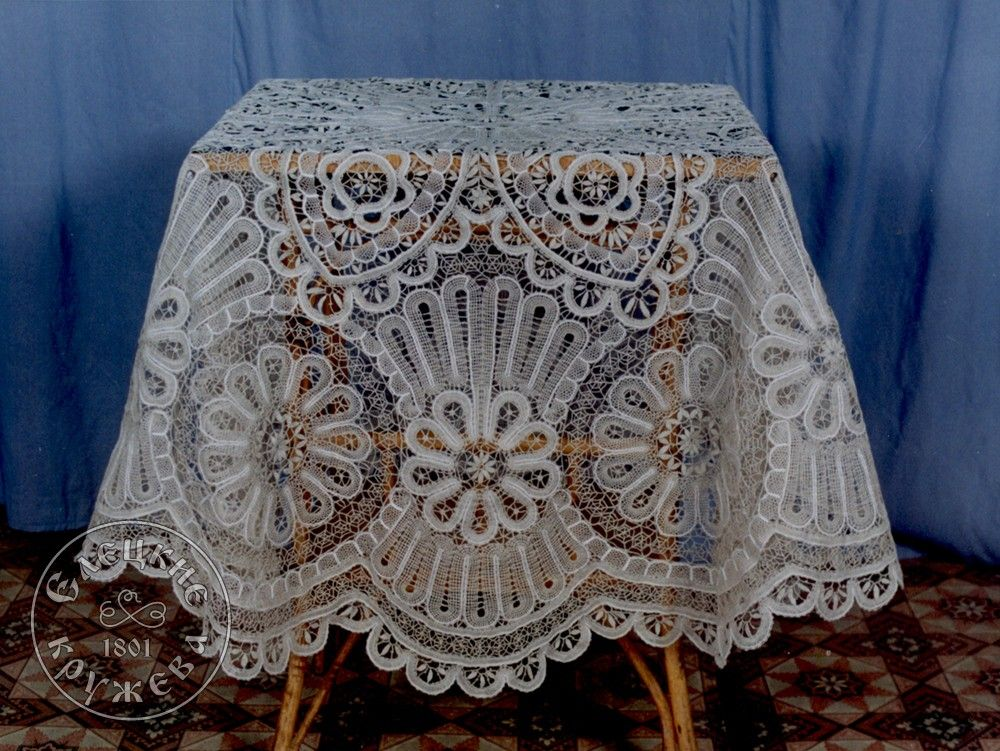Yelets lace / Lace tablecloth С706