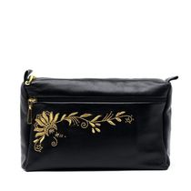 Leather Cosmetic Bag 'Darina'
