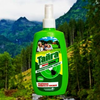 Taiga Antiklesch Spray from ticks 125 ml.