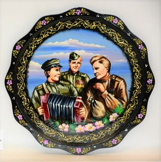 The panel for the holiday May 9 black, Vyatka souvenir