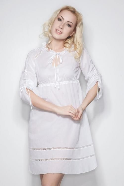 "Chemise nightwear women's ""Sweet fantasy"" Raglan sleeve"