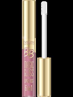 Lip gloss No. 598 the bb magic gloss, Eveline, 9 ml