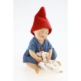 Birgitte Frigast / Porcelain doll Josefine, 10 cm