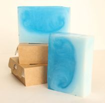 The ocean bar 0.9 kg - handmade soap with the scent of spicy lavender