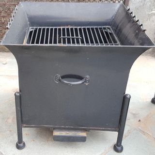 Barbecue from metal