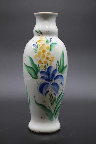 Dulevo porcelain / Flower vase Ceramic Symphony of Spring, by Korisheva E.S.