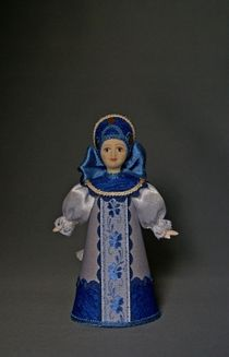 The souvenir doll, 'the Girl in the suit at the Gzhelian based on'