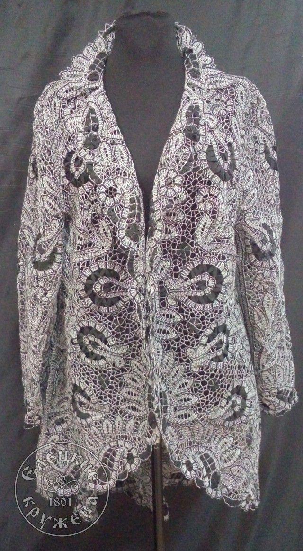 """Yelets lace / Women's lace coat """"Refinement"""" 55-12"""