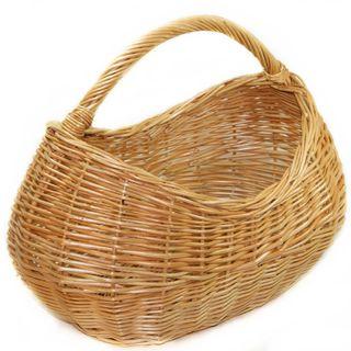 """Azimuth / Wicker basket """"Harvest"""" No. 2, 190х290х390"""