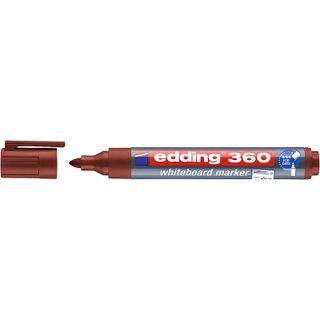 Edding / Whiteboard marker, round nib, 1.5-3mm Brown