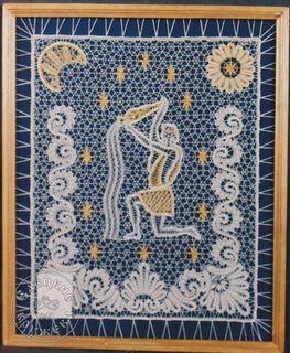 """Panels decorative lace """"Aquarius"""""""