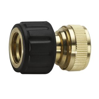Connector (connector) KARCHER (KERHER), for hoses 1/2, 5/8, brass