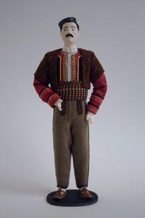 Doll gift. Male costume. Macedonia