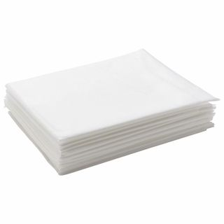 CLEANING / Non-sterile disposable sheets, set of 10 pcs., 70x200 cm, laminated spunbond 42 g / m2, white