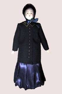 Doll gift. A Woman Of The Salvation Army.