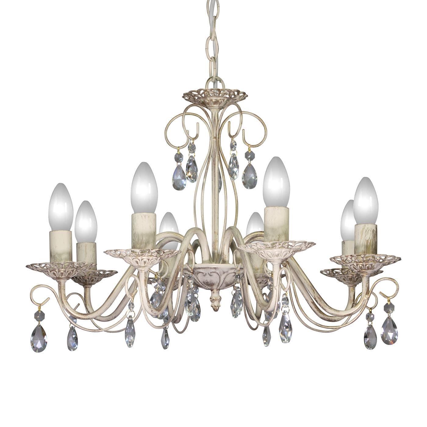 PETRASVET / Pendant chandelier S8068-8, 8xE14 max. 60W