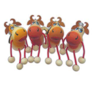 Toy on a spring Ladybug