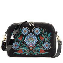 Velvet bag 'Azulezhu'