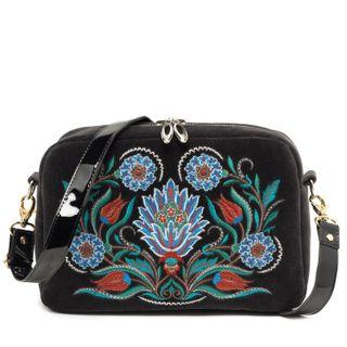 """Velvet bag """"Azulezhu"""""""