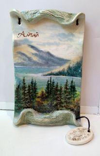 Ceramic gift plaque