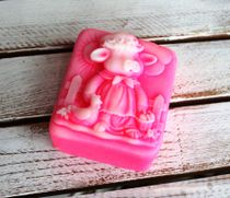Handmade soap Pig in a Village mix of flowers and aromas