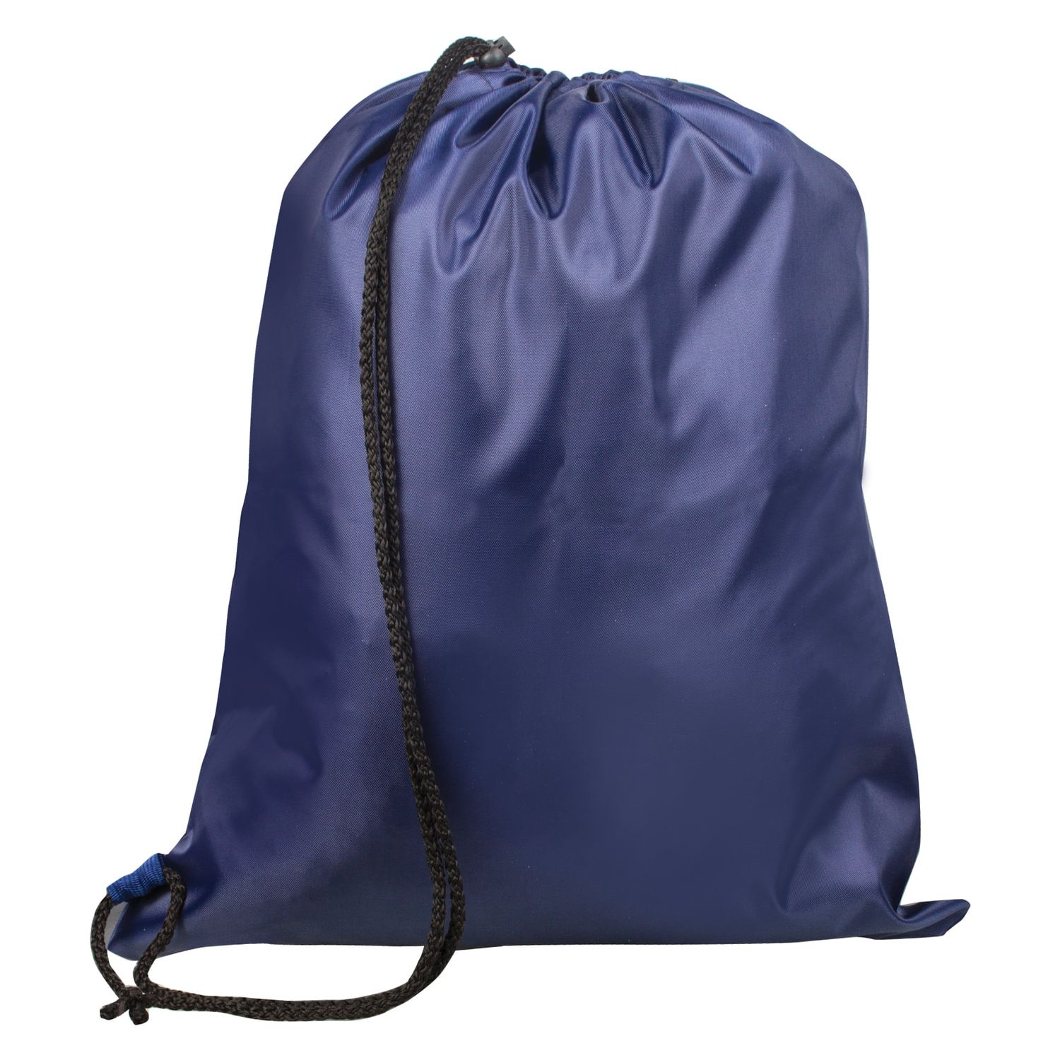 Shoe bag TOP-SPIN for elementary school students, 1 cord with a plastic locking, blue, 43х35 cm