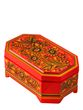 Casket 'Divo' 80 * 110 * 180 with Khokhloma painting - view 1