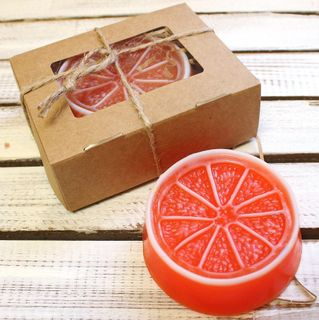 Handmade Soap Orange
