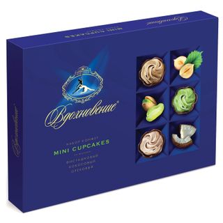 """RED OCTOBER / Chocolate sweets """"Vdohnovenie"""" small cakes, 165 g"""