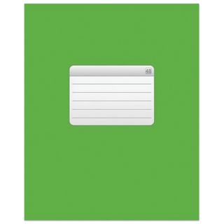 Notebook A5, 48 sheets, HATBER VK, staple, cage, cover cardboard,