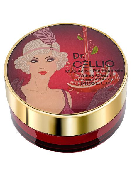 This multi-action light cream with pomegranate extract , Dr. CELLIO , 100 gr