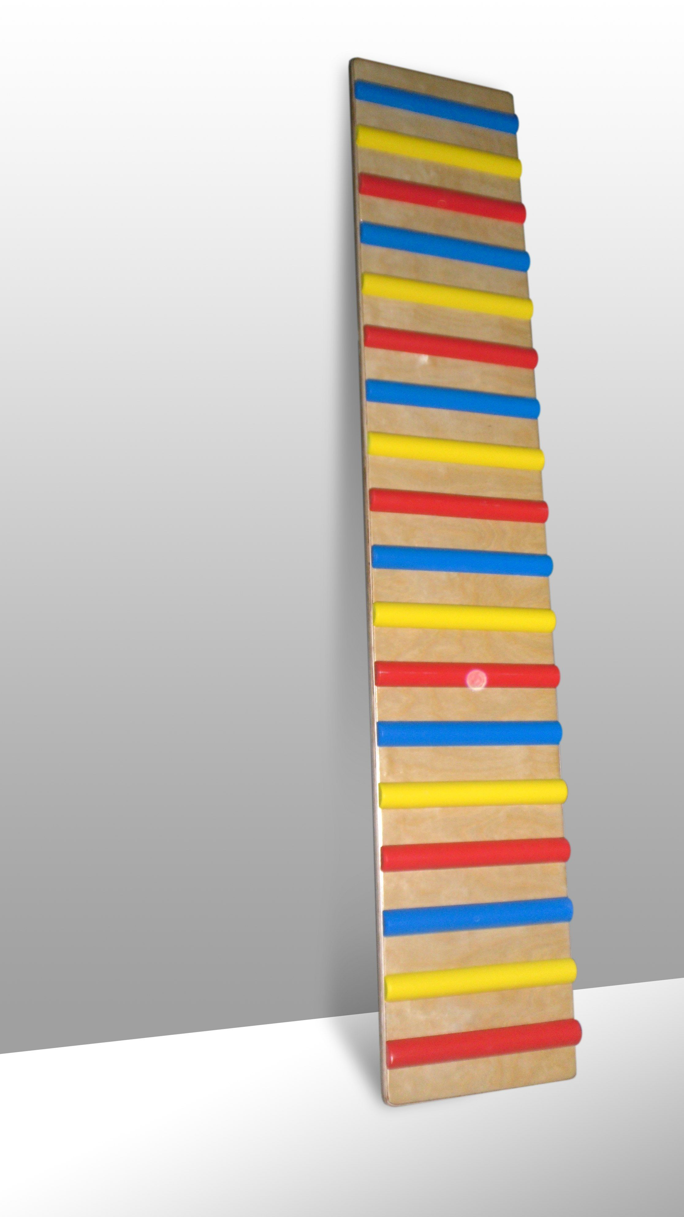 FSI Analytica / Inclined ribbed board 1.6x0.3m with colored strips (17pcs)