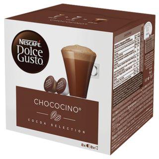 Capsules for NESCAFE Dolce Gusto Chococino coffee machines, cocoa capsules 8 pcs. x 16 g, milk capsule 8 pcs. x 17.8 g