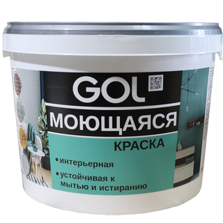 Washable acrylic paint for walls GOL VD-AK-1180