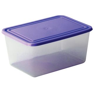 IDEA / Container with a lid sealed universal - storage and microwave, 12x19x25 cm, 4 l