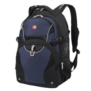 WENGER backpack, universal, black-blue, 32 l, 36х19х47 cm