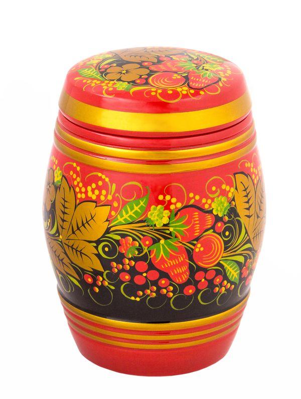 Khokhloma painted barrel 160 * 120