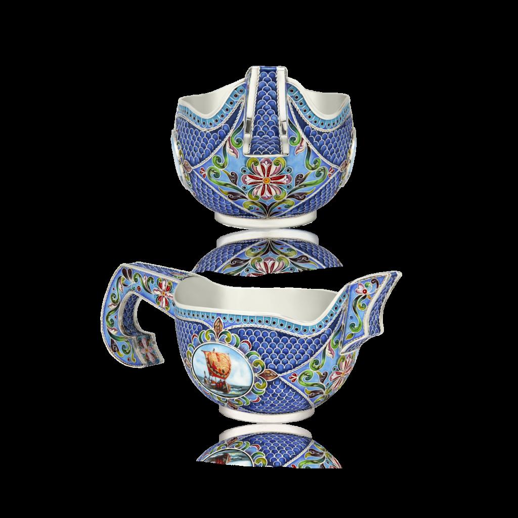 Rostov enamel / Knyazhesky bucket