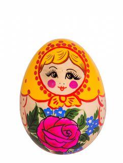"""Toy wooden """"Egg matryoshka"""""""