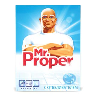Cleaner MR.PROPER (Mister Proper) with whitening effect universal powder 400 g