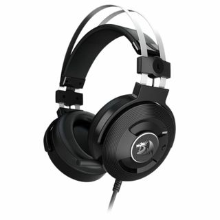 REDRAGON / Headphones with microphone (headset) Triton, wired, 1.8 m, oversized with headband, black
